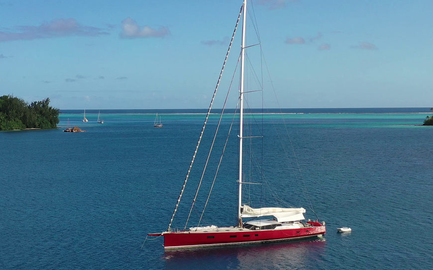 Last Chance to Charter NOMAD IV in French Polynesia
