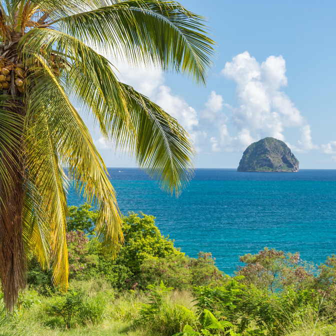 Diamond Rock & Saint Anne - Martinique