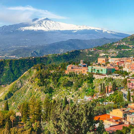 Take on Mount Etna